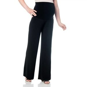 OH BABY Belly Fit Palazzo Maternity Pants